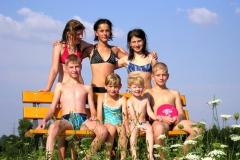 Léto na přehradě