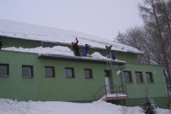 Výjezd - uklid sněhu