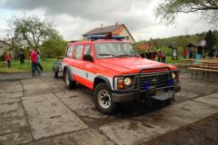 I. kolo soutěže v požárním sportu okrsku Příbor