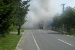 Požár traktoru - 6. 6. 2018
