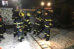 Výcvik na zamrzlé vodní hladině - 1. 3. 2018