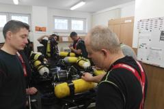 Výcvik NDT - HZS MSK, Ostrava Fifejdy - 10. 2. 2018